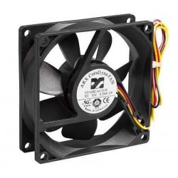80x80x25mm Dc 12V Fan