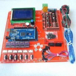 Ramps 1.4 + Arduino Mega + DVR8825 + HeadBed + LCD Full Set