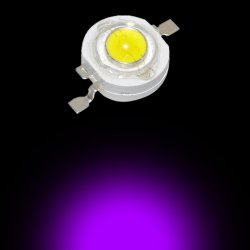 1W Power Led UV Mor 395-400nm