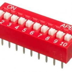 10 lu Dip Switch 2.54mm ON-OFF