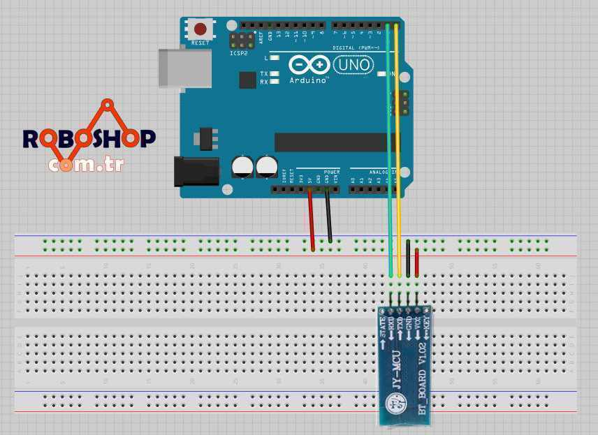 Data transfer between Android and Arduino via Bluetooth